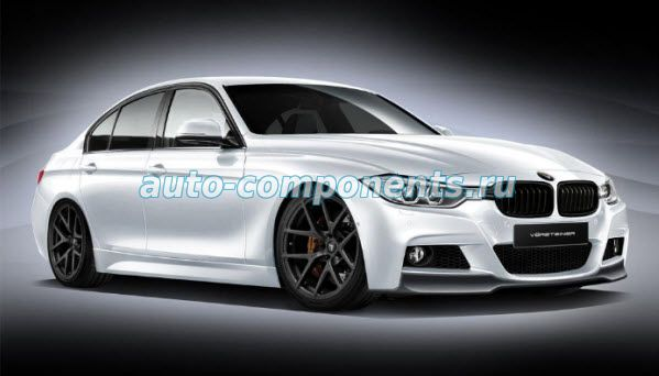 BMW 3 F30 Установка сигнализации