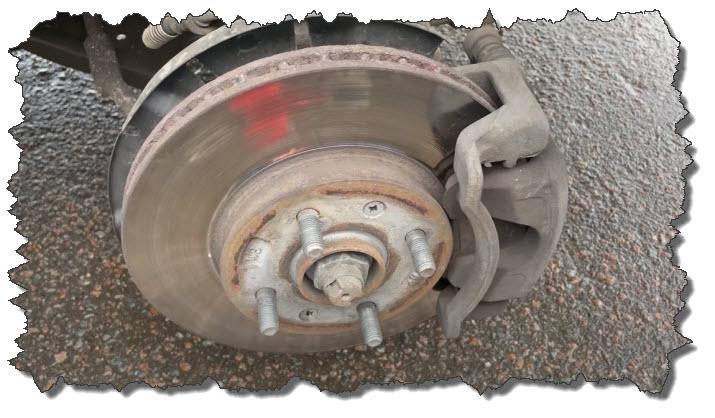 замена тормозных дисков киа