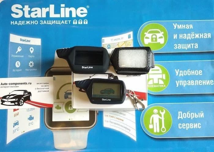Брелок Starline A91 - ЖК дисплей, диалог брелок сигнализации старлайн а91