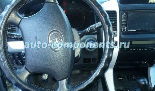 Установка кнопки на Тойота Прадо