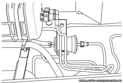 Замена топливного фильтр Джили Эмгрант