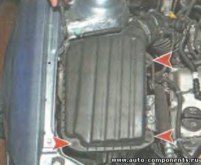 Замена воздушного фильтра Daewoo Gentra