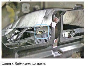 Точки подключения Hyundai Santa Fe