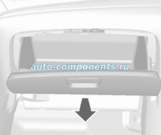 Замена салонного фильтра на Opel Mokka