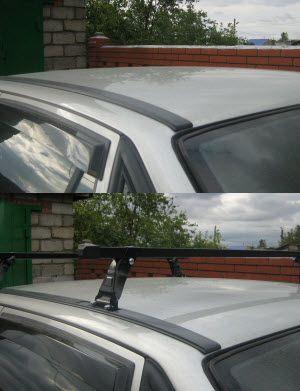 Багажник на крышу Daewoo Nexia
