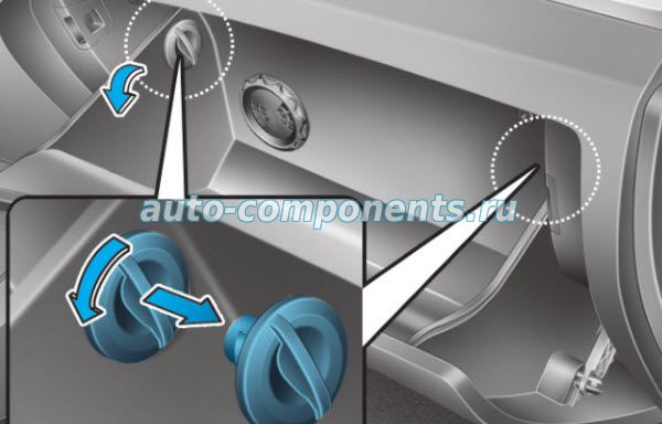 Замена салонного фильтра Hyundai Tucson