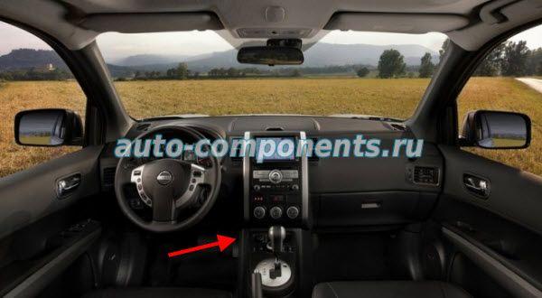 Nissan X-Trail T31 замена салонного фильтра